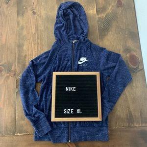 Nike Vintage Girls Full Zip Hoodie